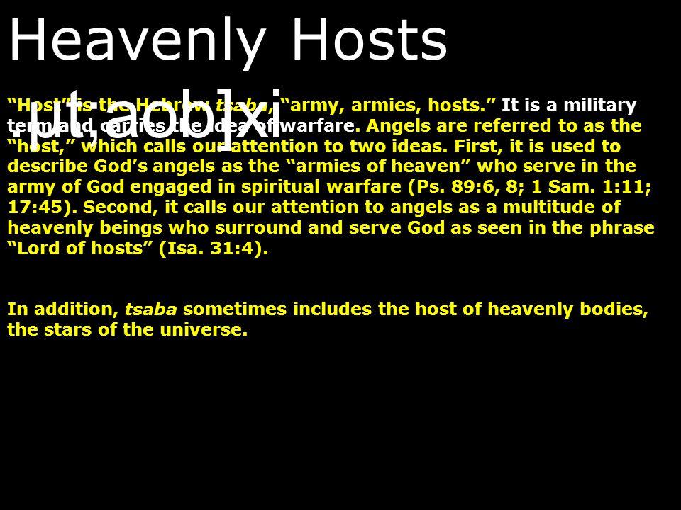 Heavenly Hosts .µt;aob]xi